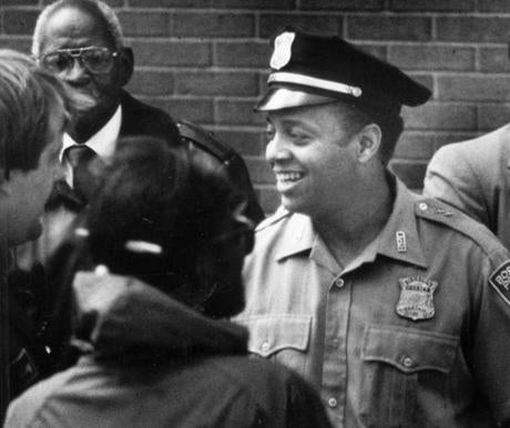 Pervis Ryans after he was named deputy police superintendent in 1991.